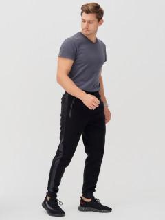 Спортивные мужские зимние черного цвета купить оптом в интернет магазине MTFORCE 1169-3Ch