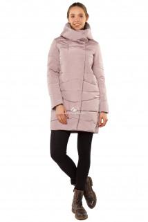 Купить оптом куртку женскую зимнюю бежевого цвета 1185B в интернет магазине MTFORCE.RU