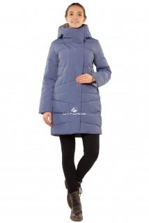 Купить оптом куртку женскую зимнюю голубого цвета 1185Gl в интернет магазине MTFORCE.RU