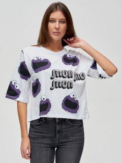 Купить футболки топы оптом от производителя в Москве 14001Bl