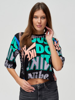 Купить футболки топы оптом от производителя в Москве 14006Ch