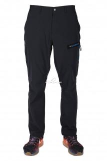 Купить оптом брюки спортивные мужские тонкие темно-синего цвета 14018TS в интернет магазине MTFORCE.RU