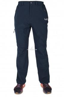 Купить оптом брюки спортивные мужские тонкие темно-синего цвета 14019TS в интернет магазине MTFORCE.RU