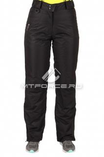 Купить оптом брюки горнолыжные женские черного цвета 1403Ch в интернет магазине MTFORCE.RU