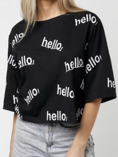 Купить футболки топы оптом от производителя в Москве 14044Ch