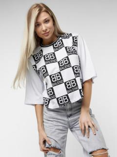Купить футболки топы оптом от производителя в Москве 14063Bl