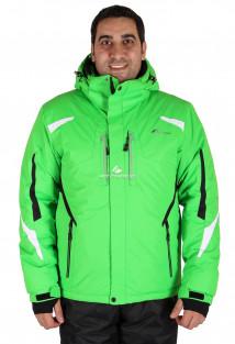 Купить оптом куртка горнолыжная мужская зеленого цвета 14106Z в интернет магазине MTFORCE.RU