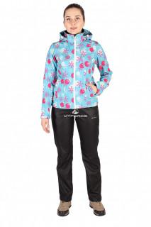 Интернет магазин MTFORCE.ru предлагает купить оптом костюм виндстопер женский голубого цвета 01514Gl по выгодной и доступной цене с доставкой по всей России и СНГ