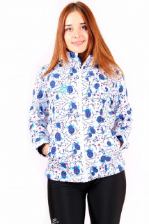 Интернет магазин MTFORCE.ru предлагает купить оптом ветровка женская белого цвета 1514Bl по выгодной и доступной цене с доставкой по всей России и СНГ