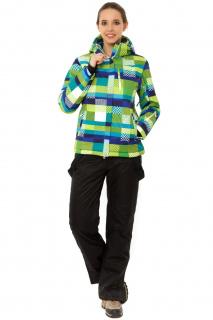 Купить оптом костюм горнолыжный женский желтого цвета 01784J в интернет магазине MTFORCE.RU
