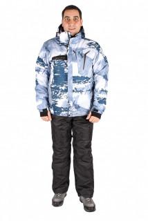 Купить оптом костюм горнолыжный мужской синего цвета 01550S в интернет магазине MTFORCE.RU