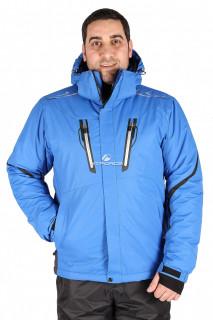 Купить оптом куртка горнолыжная мужская синего цвета 1556S в интернет магазине MTFORCE.RU