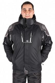 Интернет магазин MTFORCE.ru предлагает купить оптом куртка горнолыжная мужская черного цвета 1558Ch по выгодной и доступной цене с доставкой по всей России и СНГ