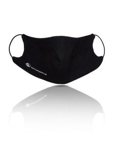 Купить оптом маску многоразовую трикотажную черную в интернет магазине MTFORCE 15843Ch