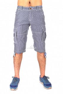 Купить оптом шорты синего цвета 161S в интернет магазине MTFORCE.RU