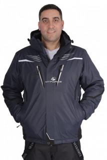 Купить оптом куртка горнолыжная мужская темно-синего цвета 1651TS в интернет магазине MTFORCE.RU