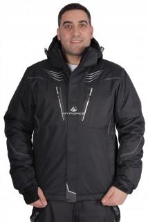 Купить оптом куртка горнолыжная мужская темно-серого цвета 1651TC в интернет магазине MTFORCE.RU
