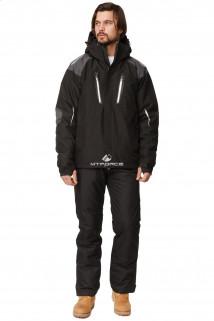Купить оптом костюм горнолыжный мужской черного цвета 01652Ch в интернет магазине MTFORCE.RU