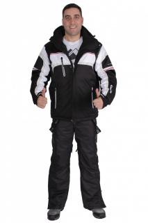 Купить оптом костюм горнолыжный мужской черного цвета 01655Ch в интернет магазине MTFORCE.RU