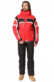 Купить оптом костюм горнолыжный мужской красного цвета 01655Kr в интернет магазине MTFORCE.RU