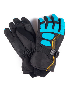 Спортивные перчатки мужские зимние синего цвета купить оптом в интернет магазине MTFORCE 1662S