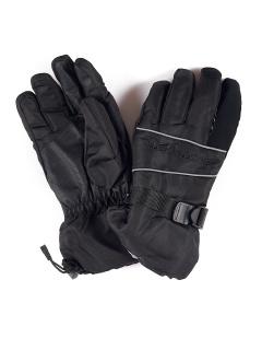 Спортивные перчатки мужские зимние черного цвета купить оптом в интернет магазине MTFORCE 1663Ch