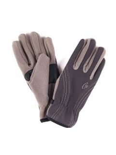 Купить оптом перчатки мужские для активного отдыха бежевого цвета 1665B в интернет магазине MTFORCE.RU