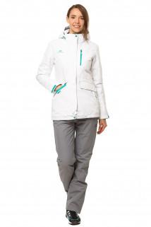 Купить оптом костюм демисезонный женский белого цвета 01703Bl в интернет магазине MTFORCE.RU