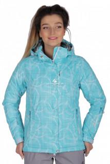 Куртка спортивная женская демисезонная голубого цвета 1710Gl в интернет магазине MTFORCE.RU