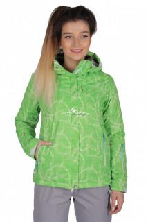 Куртка спортивная женская демисезонная салатового цвета 1710Sl в интернет магазине MTFORCE.RU
