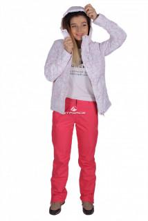 Костюм женский демисезонный белого цвета 01710B в интернет магазине MTFORCE.RU
