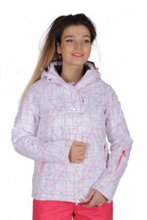 Куртка спортивная женская демисезонная белого цвета 1710Bl в интернет магазине MTFORCE.RU