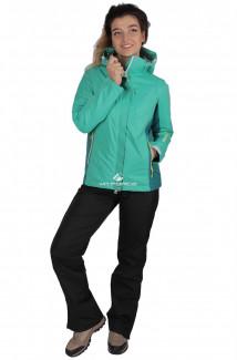 Купить оптом костюм женский осень весна зеленого цвета 01712Z в интернет магазине MTFORCE.RU