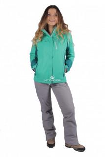 Купить оптом костюм женский осень весна зеленый цвета 01713Z в интернет магазине MTFORCE.RU