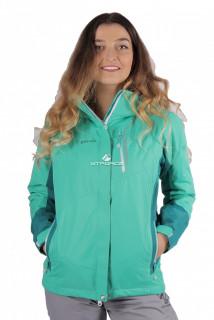 Купить оптом куртку женскую осень весна зеленый цвета 1713Z в интернет магазине MTFORCE.RU