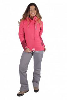 Купить оптом костюм женский осень весна розового цвета 01713R в интернет магазине MTFORCE.RU