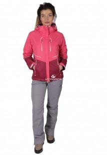 Купить оптом костюм женский осень весна розового цвета 01715R в интернет магазине MTFORCE.RU