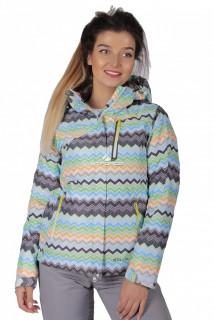Куртка спортивная женская осень весна салатового цвета 1716Sl в интернет магазине MTFORCE.RU