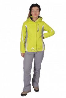 Купить оптом костюм женский осень весна желтого цвета 01717J в интернет магазине MTFORCE.RU