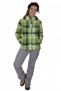 Купить оптом костюм женский осень весна салатового цвета 017211Sl в интернет магазине MTFORCE.RU