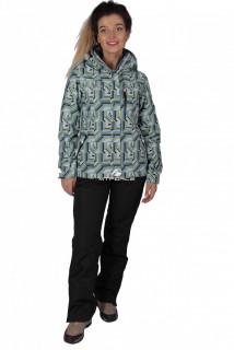 Купить оптом костюм женский осень весна голубого цвета 01722Gl в интернет магазине MTFORCE.RU