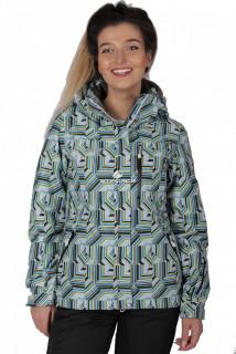 Куртка спортивная женская осень весна голубого цвета 1722Gl в интернет магазине MTFORCE.RU