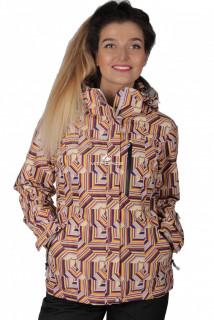 Куртка спортивная женская осень весна желтого цвета 1722J в интернет магазине MTFORCE.RU