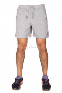 Купить оптом спортивные шорты серого цвета 17352Sr в интернет магазине MTFORCE.RU