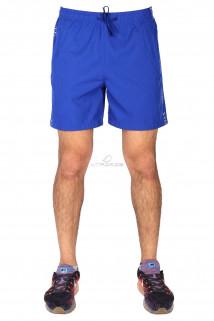 Купить оптом спортивные шорты синего цвета 17352S в интернет магазине MTFORCE.RU