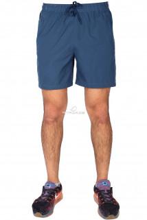 Купить оптом спортивные шорты голубого цвета 17352Gl в интернет магазине MTFORCE.RU