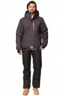 Купить оптом костюм горнолыжный мужской темно-серый цвета 01737TС в интернет магазине MTFORCE.RU