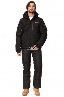 Купить оптом костюм горнолыжный мужской черный цвета 01737Ch в интернет магазине MTFORCE.RU