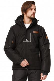 Купить оптом куртка горнолыжная мужская черного цвета 1737Ch в интернет магазине MTFORCE.RU