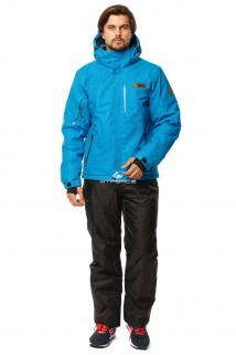 Купить оптом костюм горнолыжный мужской голубого цвета 01737Gl в интернет магазине MTFORCE.RU